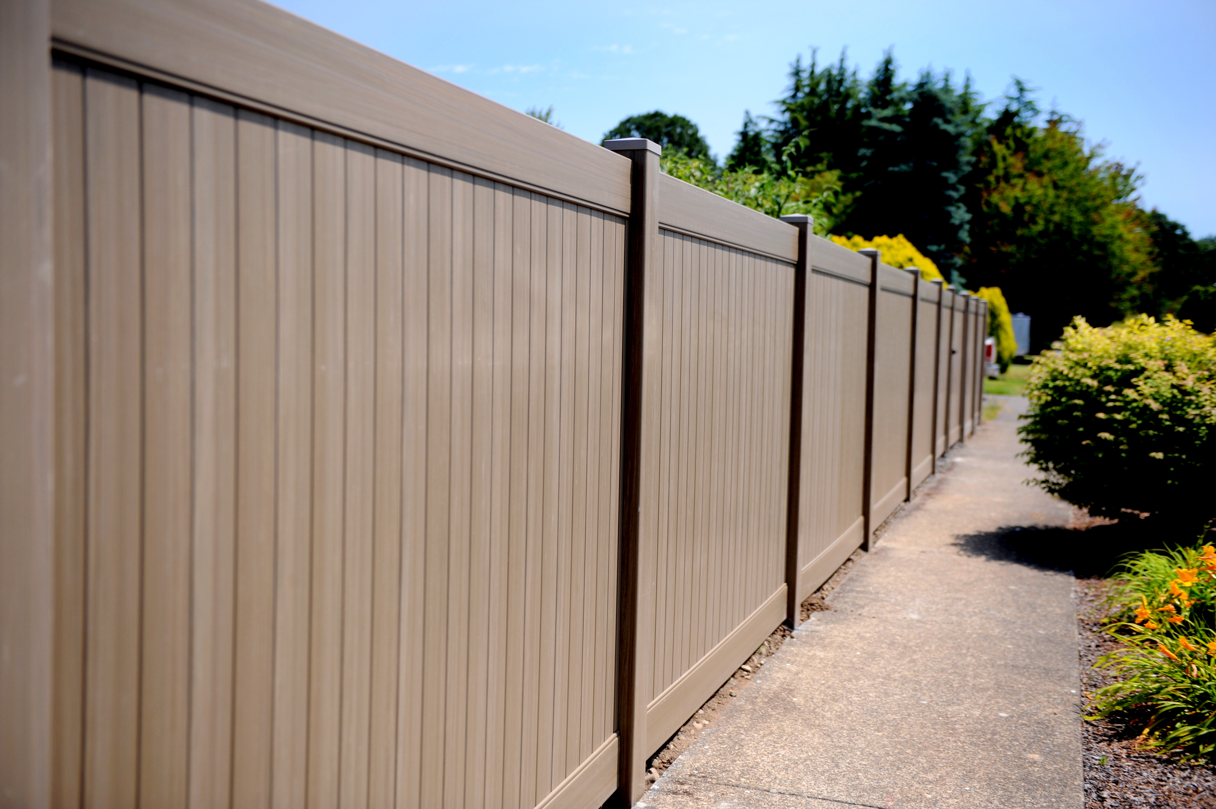 Unique Vinyl Fencing Colors With Kroy Vinyl Fencing And Railing Is regarding size 4256 X 2832