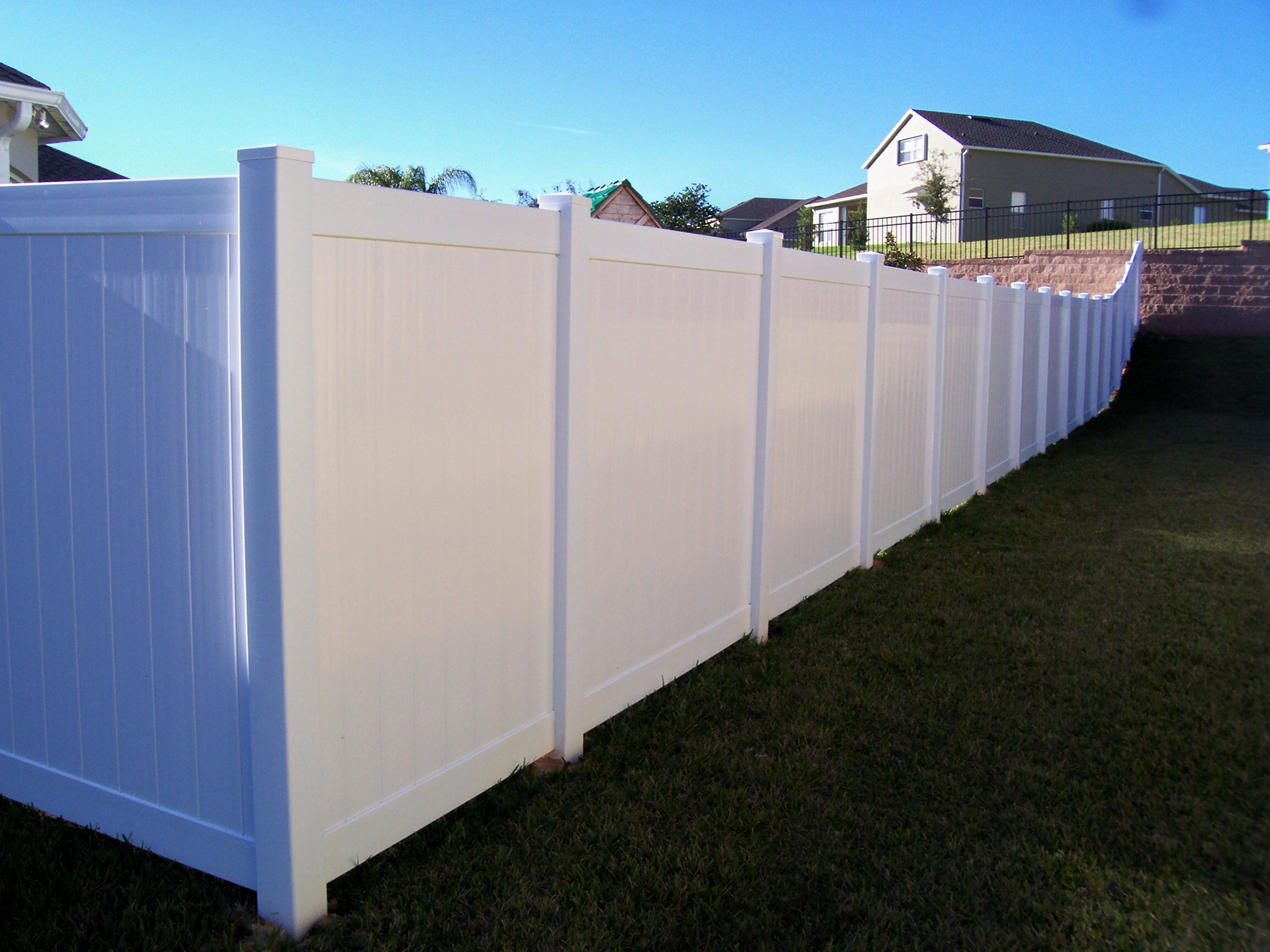 Vinyl Fence intended for measurements 2304 X 1728