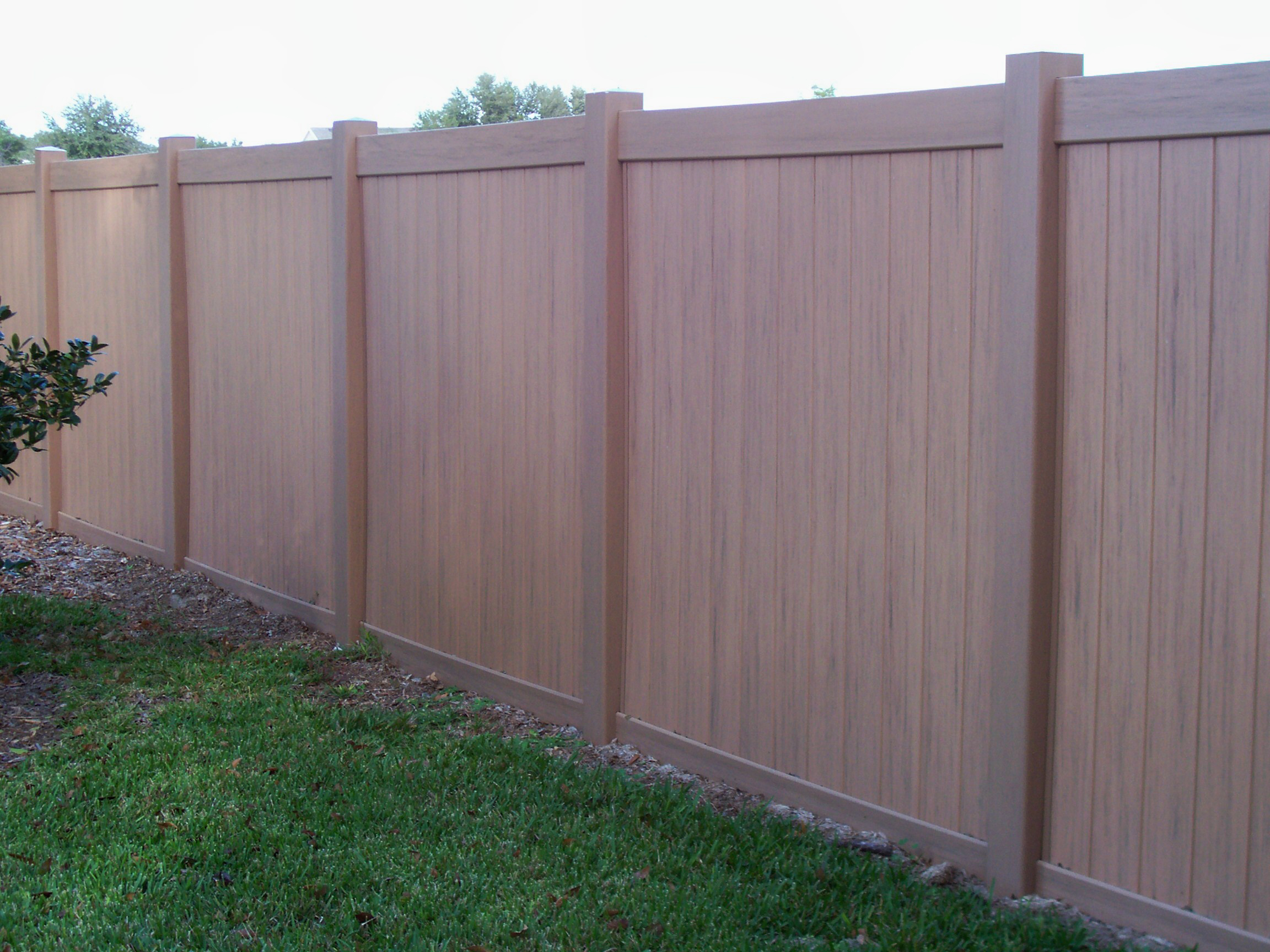 Vinyl Fence with regard to measurements 2304 X 1728