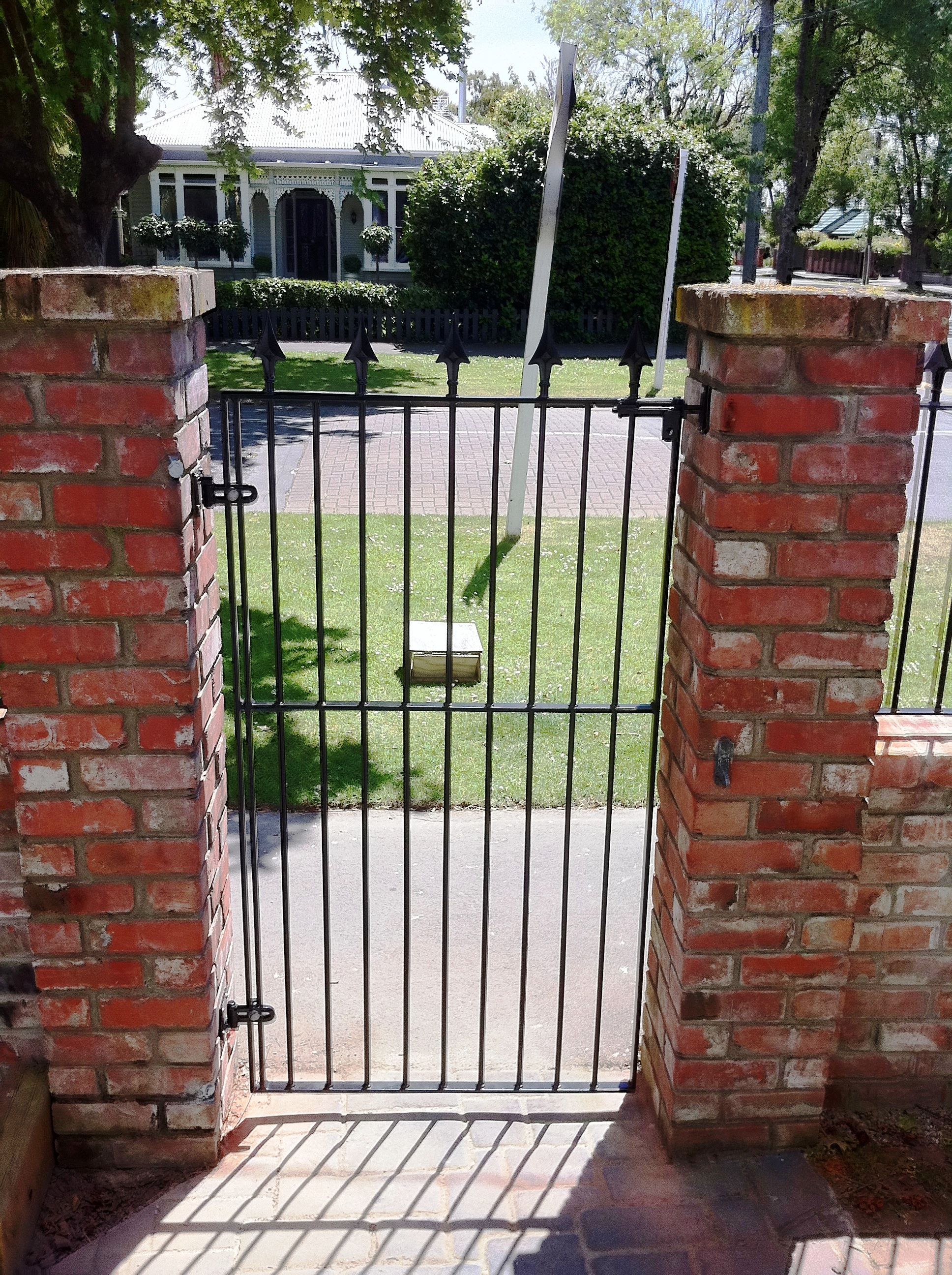 Wrought Iron Gates Pool Fencing Balustrades Christchurch regarding dimensions 1936 X 2592