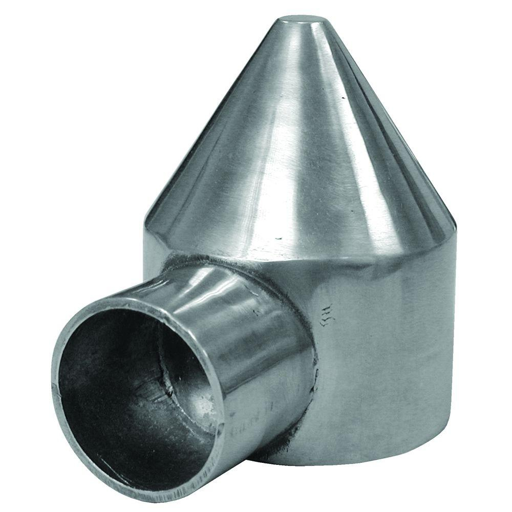 Yardgard 2 38 In Aluminum One Way Chain Link Bullet Cap 328568c regarding sizing 1000 X 1000