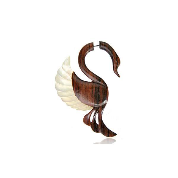 Alargador Falso Cisne Madrepérola (Unidade)