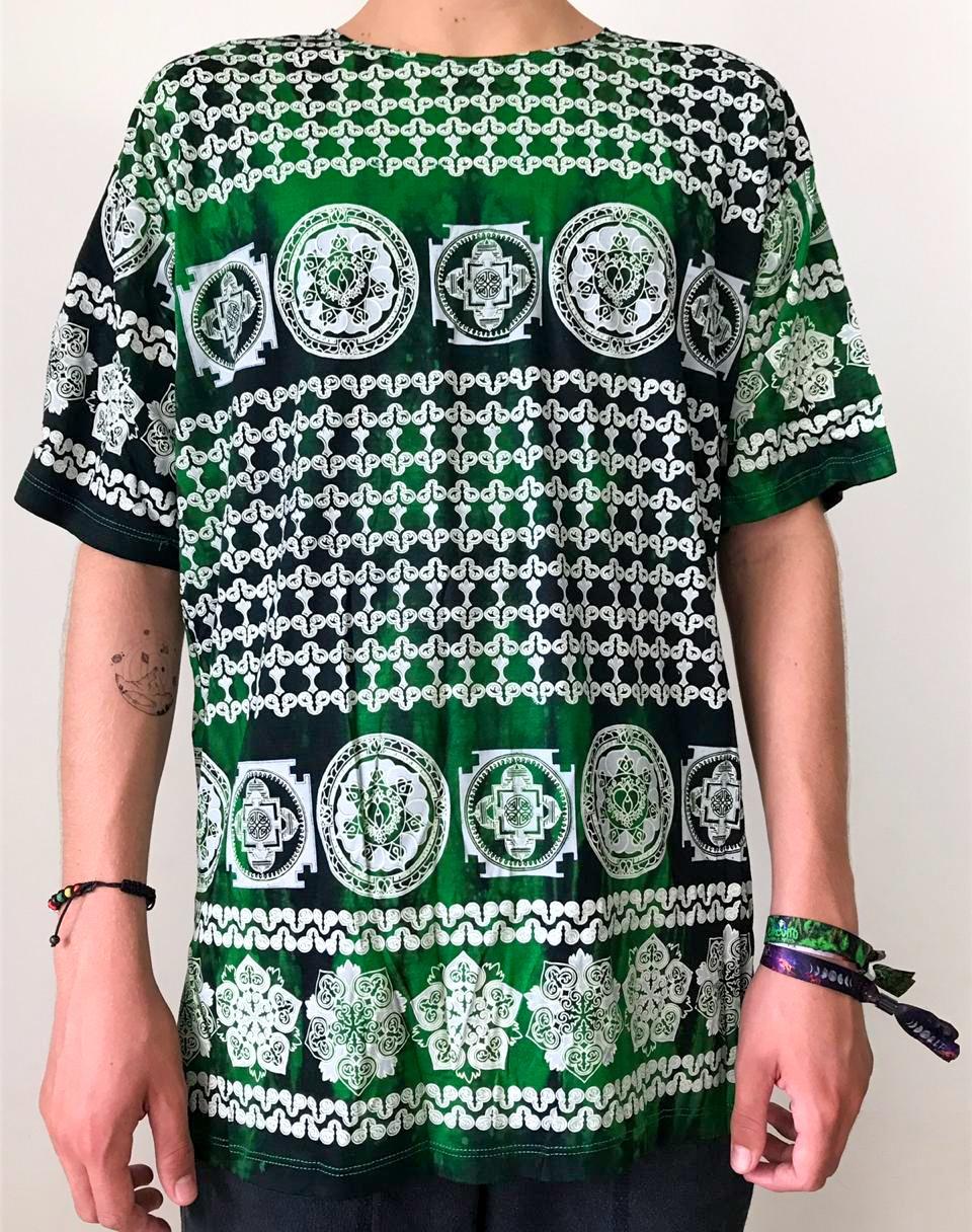 Camiseta Astecas Calendário