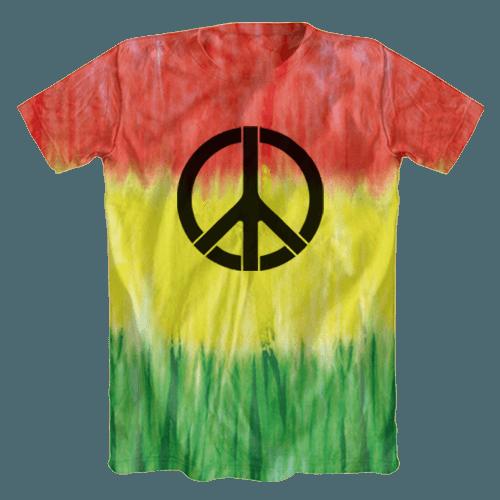 Camiseta Tie Dye Simbolo da Paz