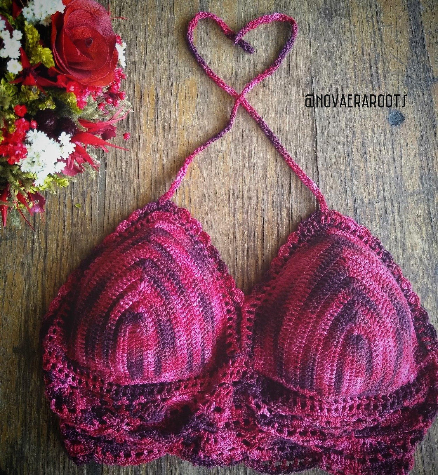 Cropped Vermelho Bicolor