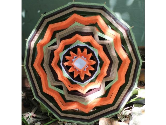 Mandala - 12 pontas 40cm