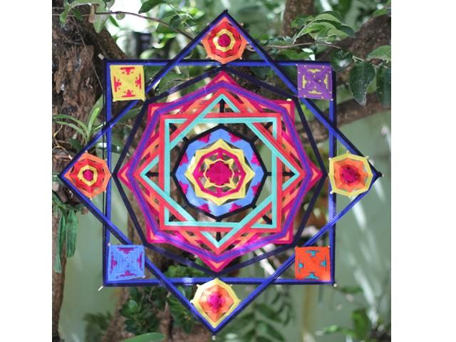 Mandala - 8 pontas 60cm