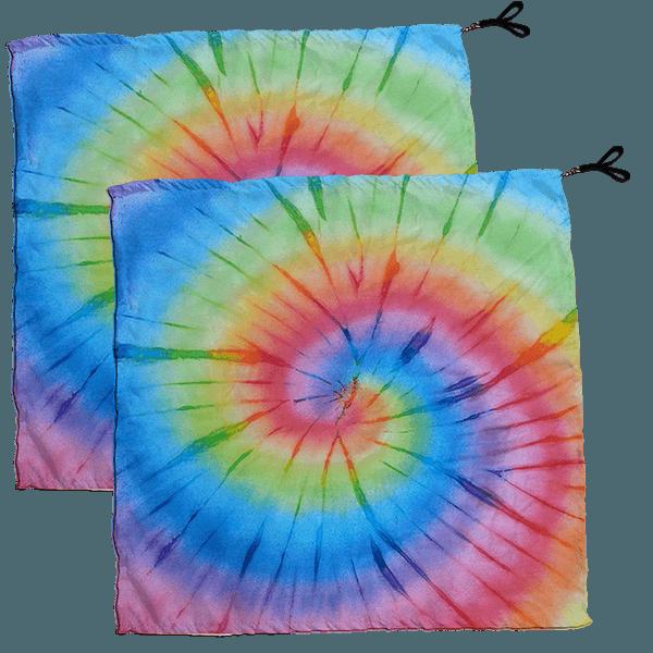 Swing Flag Tie Dye Espiral Colorido