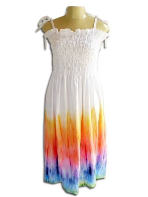 Vestido Lastec Tie-Dye Psicodélico 001