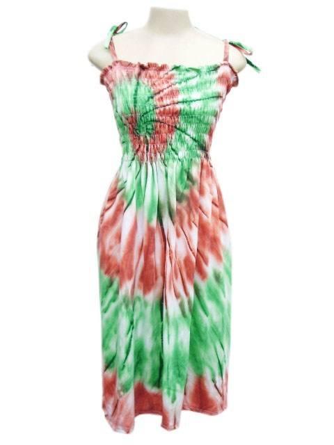 Vestido Lastec Tie-Dye Psicodélico 012