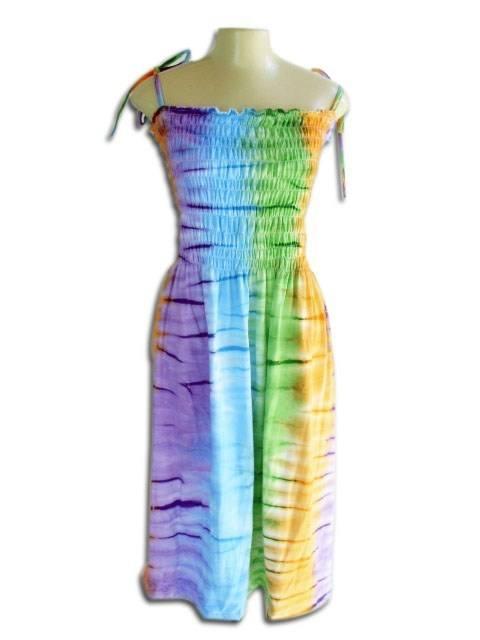 Vestido Lastec Tie-Dye Psicodélico 016