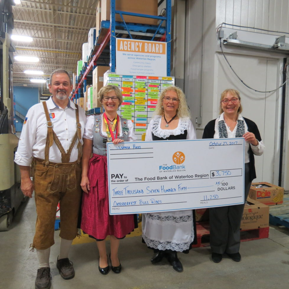 Transylvania Haus Food Bank Donations