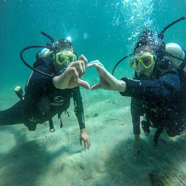 Mergulho para 2 pessoas em Ubatuba-SP