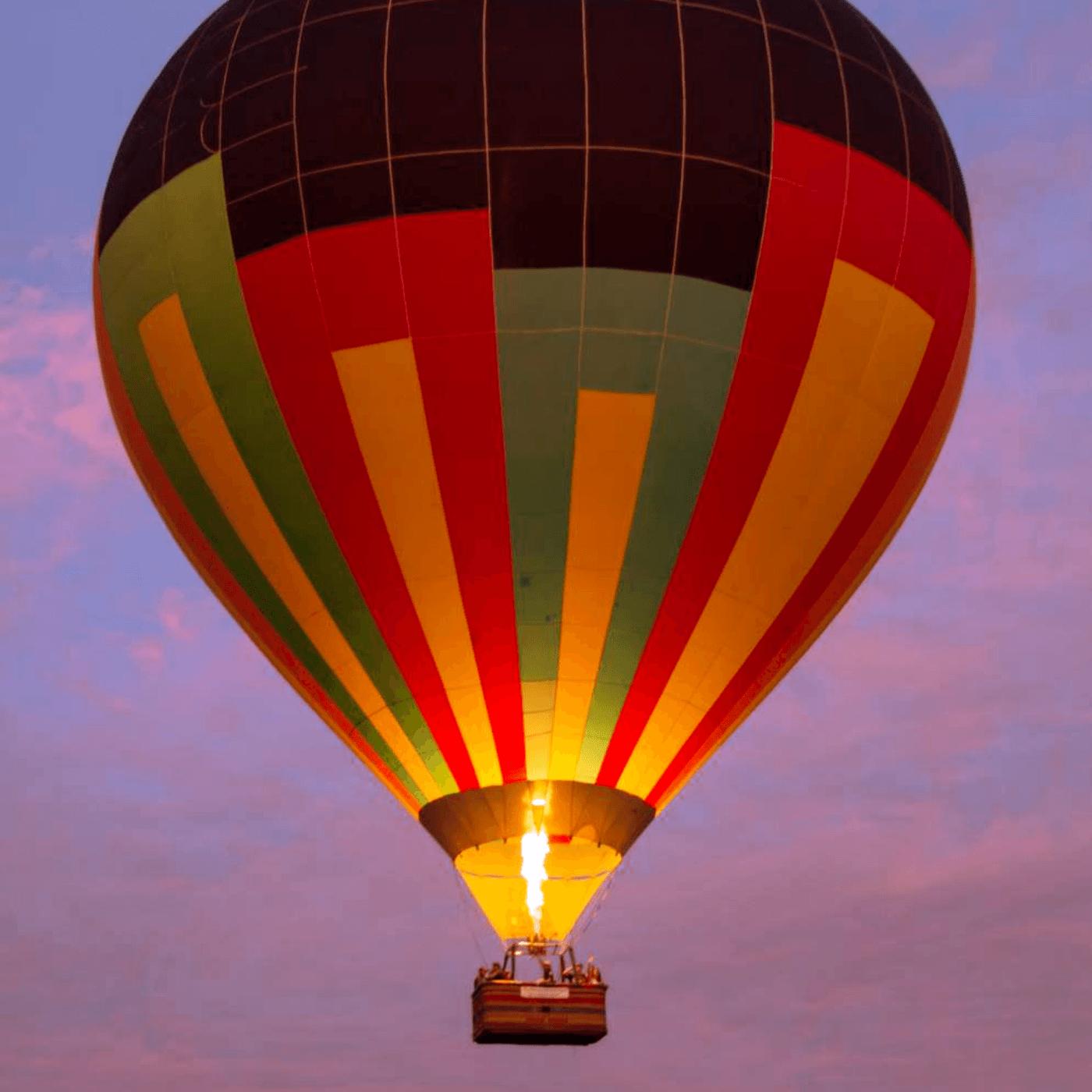 Passeio de Balão para 4 pessoas com Hospedagem em Boituva-SP