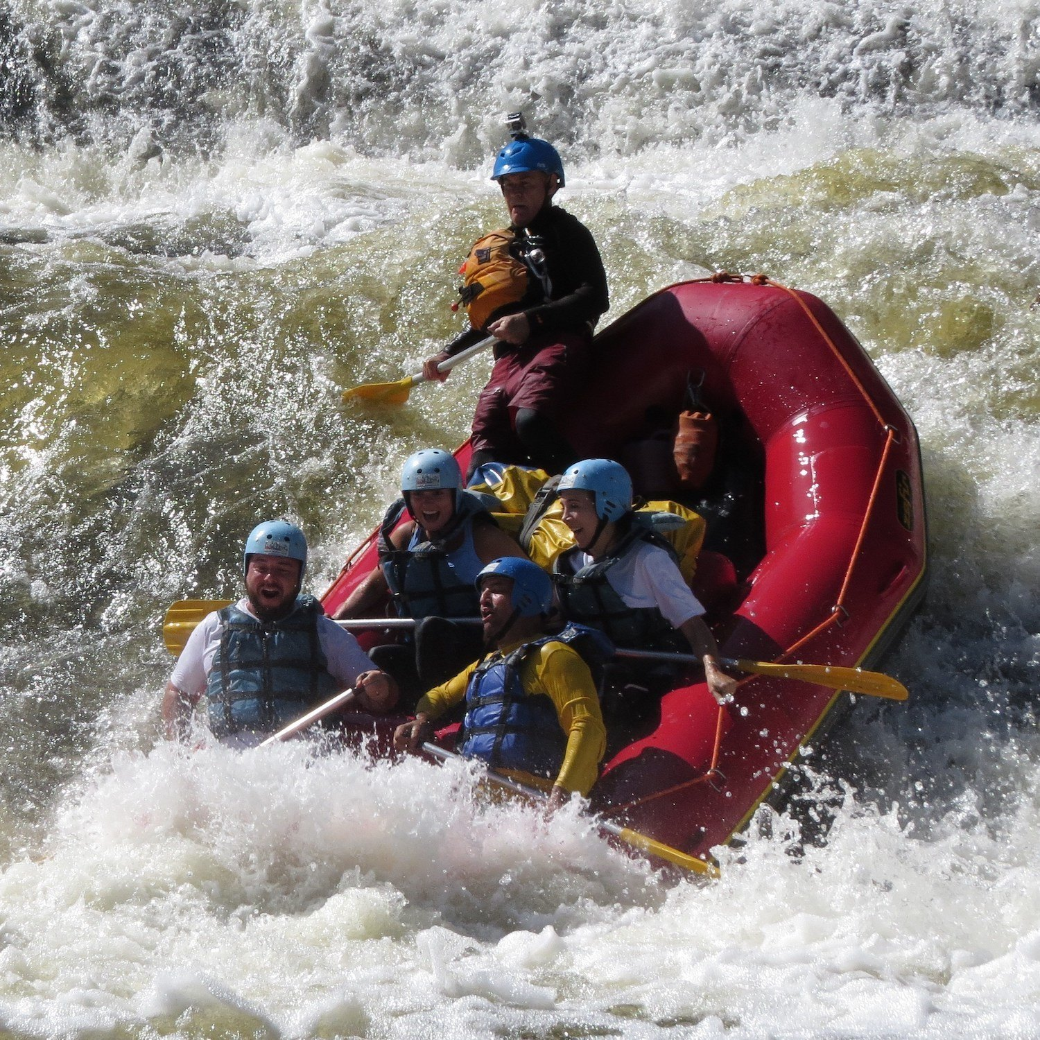 Rafting no Núcleo Santa Virginia (TRANSPORTE INCLUSO 23 e 24 de Novembro)