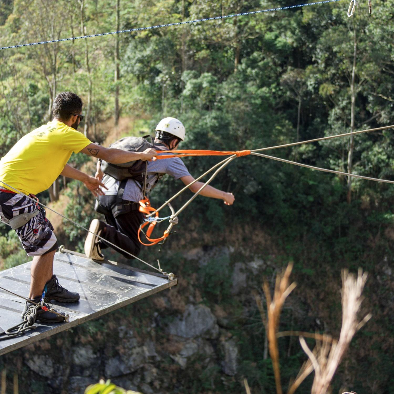 Rope Jump de 70 metros (26/10/2019) no DIB Mairiporã-SP