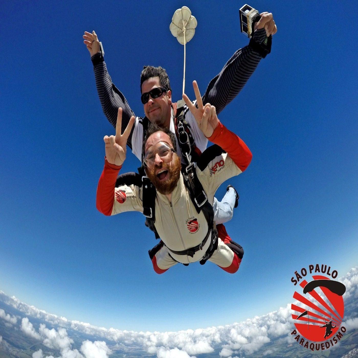 Salto de Paraquedas com Fotos e Filmagem (Handycam) Boituva-SP