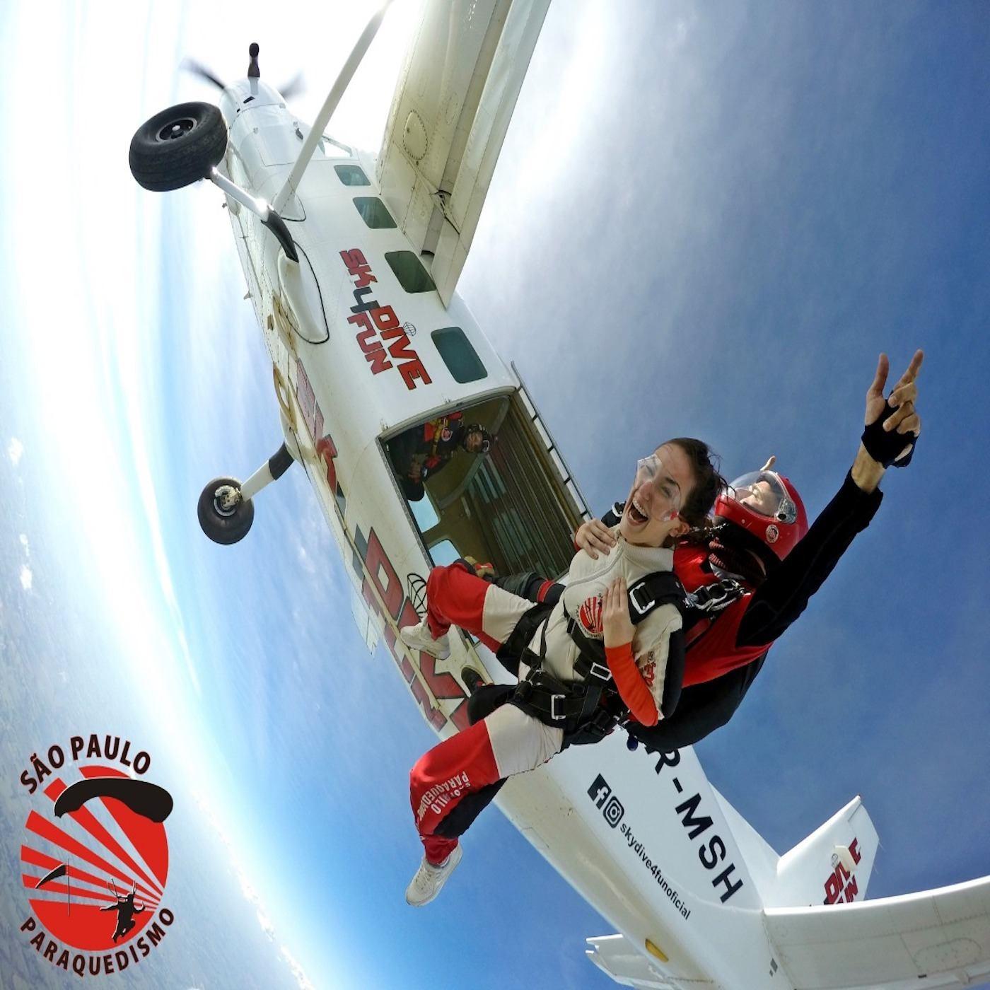 Salto de Paraquedas Super Vip em Boituva-SP(Agende sua Data)