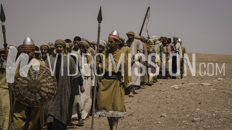 Daniel and Captives Marching to Babylon 6