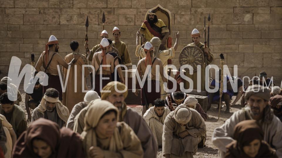 Daniels 3 Friends Brought Before Nebuchadnezzar 5