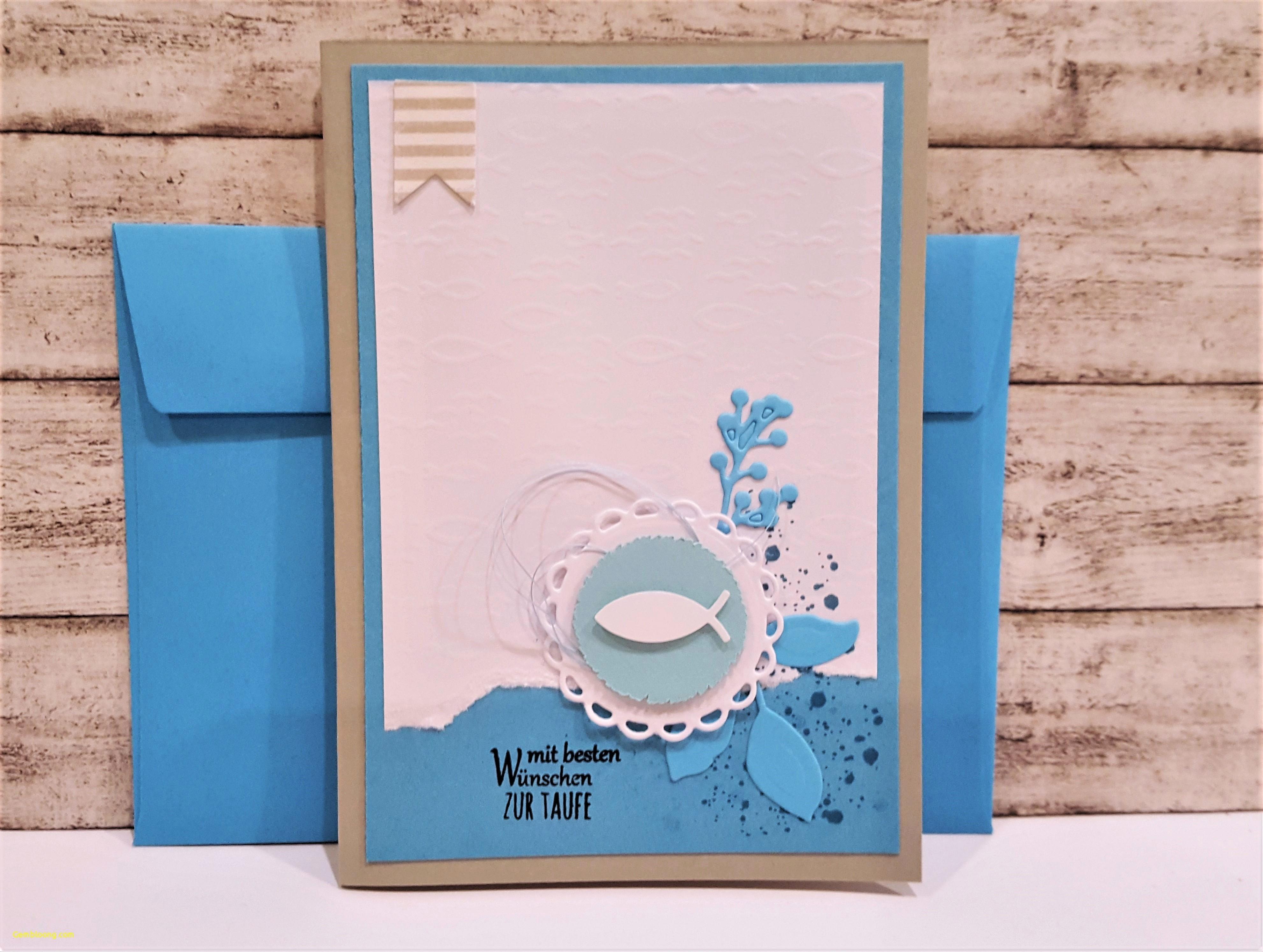 Karte Zur Taufe Selbst Gestalten.56 Taufkarte Basteln Fisch